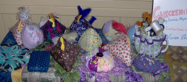 Collection of 'chickens'