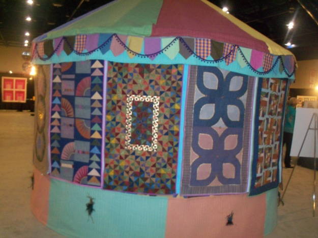 IQS 2012 Quilted Yurt 2